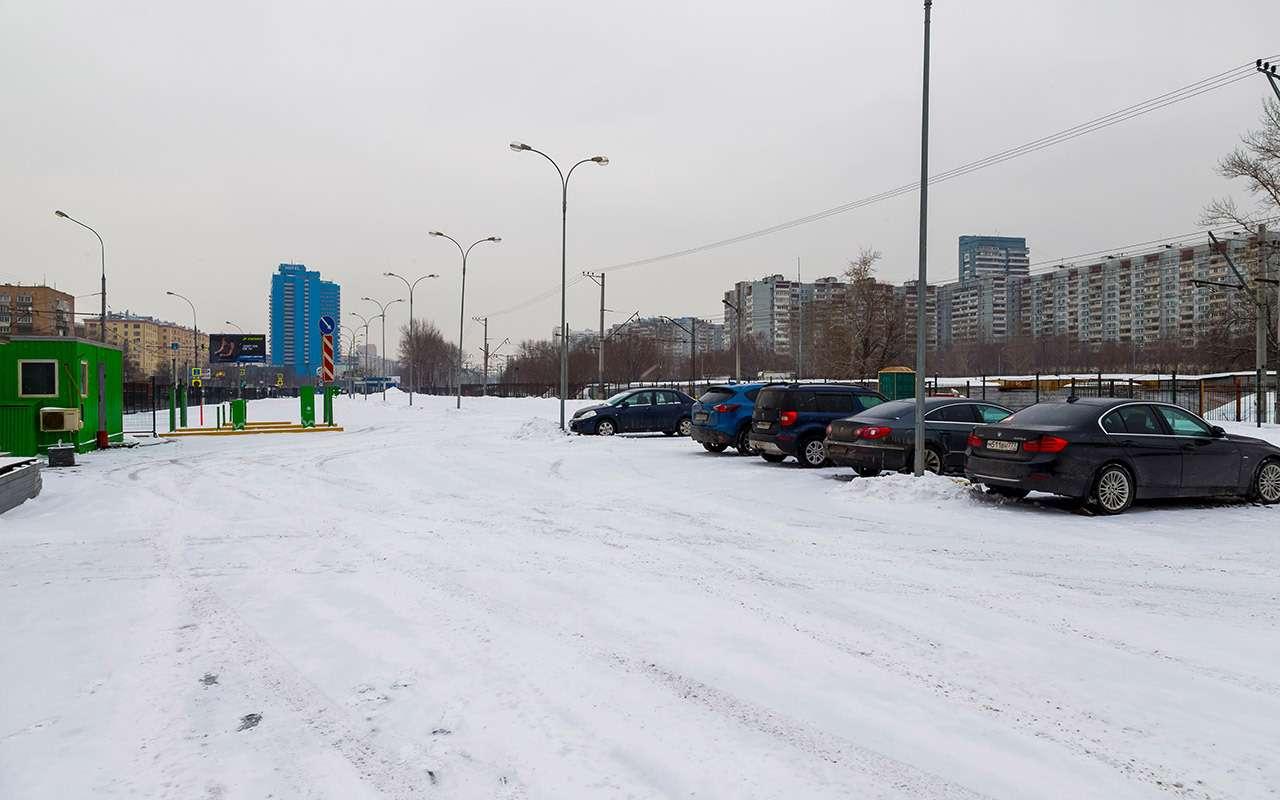 Перехватывающие парковки: как ими пользоваться ине платить— фото 961354