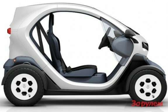 Renault Twizy side view