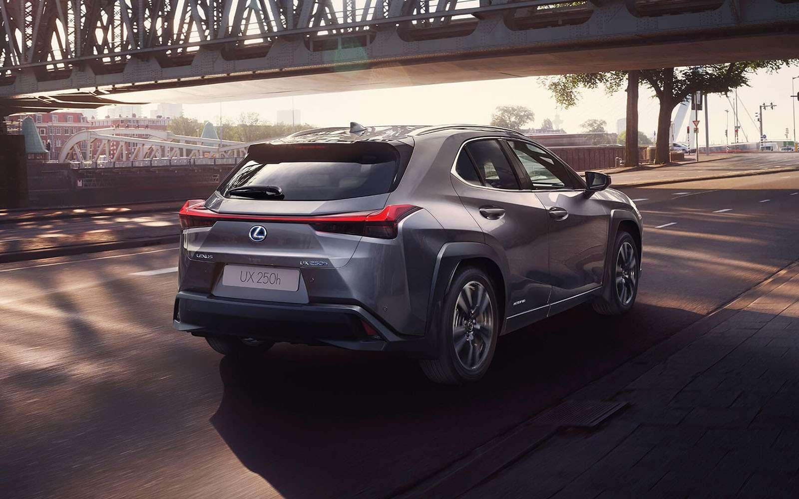 Lexus назвал российские цены накроссовер UX