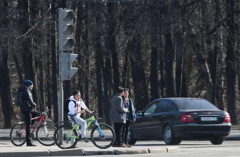 Специальные светофоры длявелосипедистов появятся вМоскве