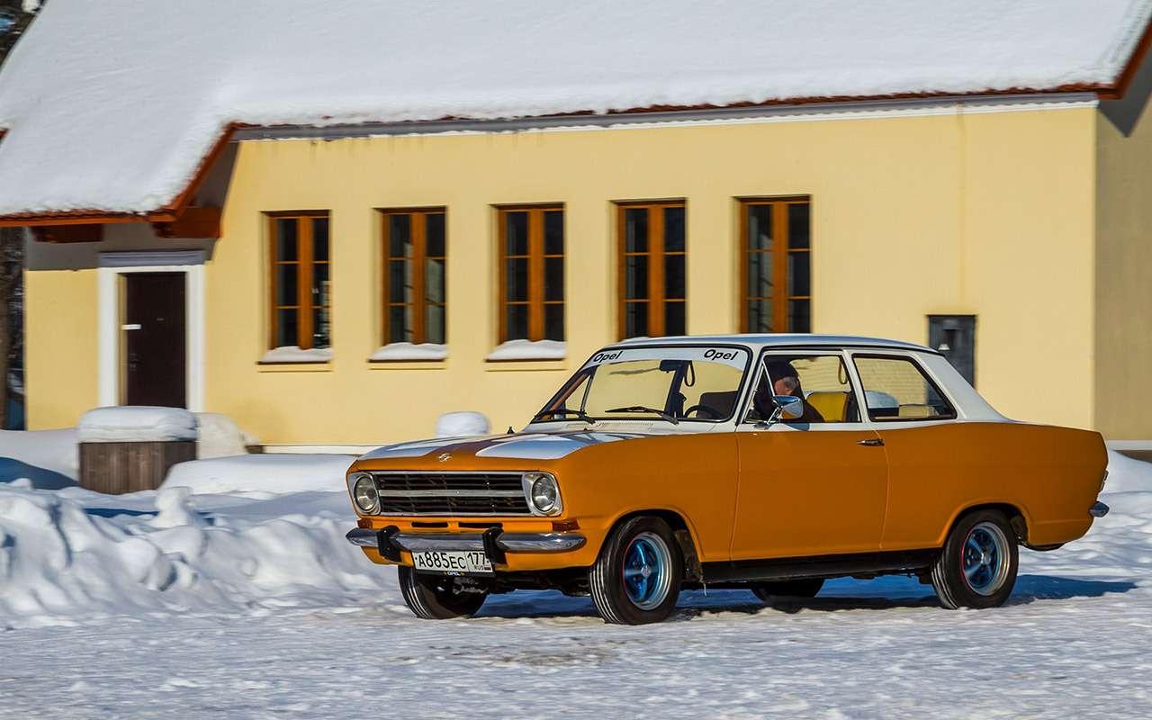 Советские автомобили против иномарок— супертест кюбилею— фото 858376