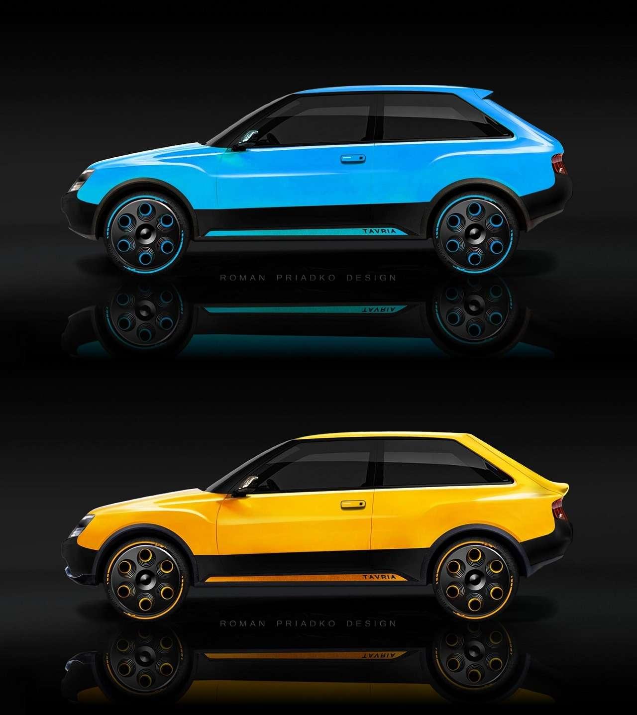 Представлен проект нового поколения ЗАЗ Таврия— фото 1259841