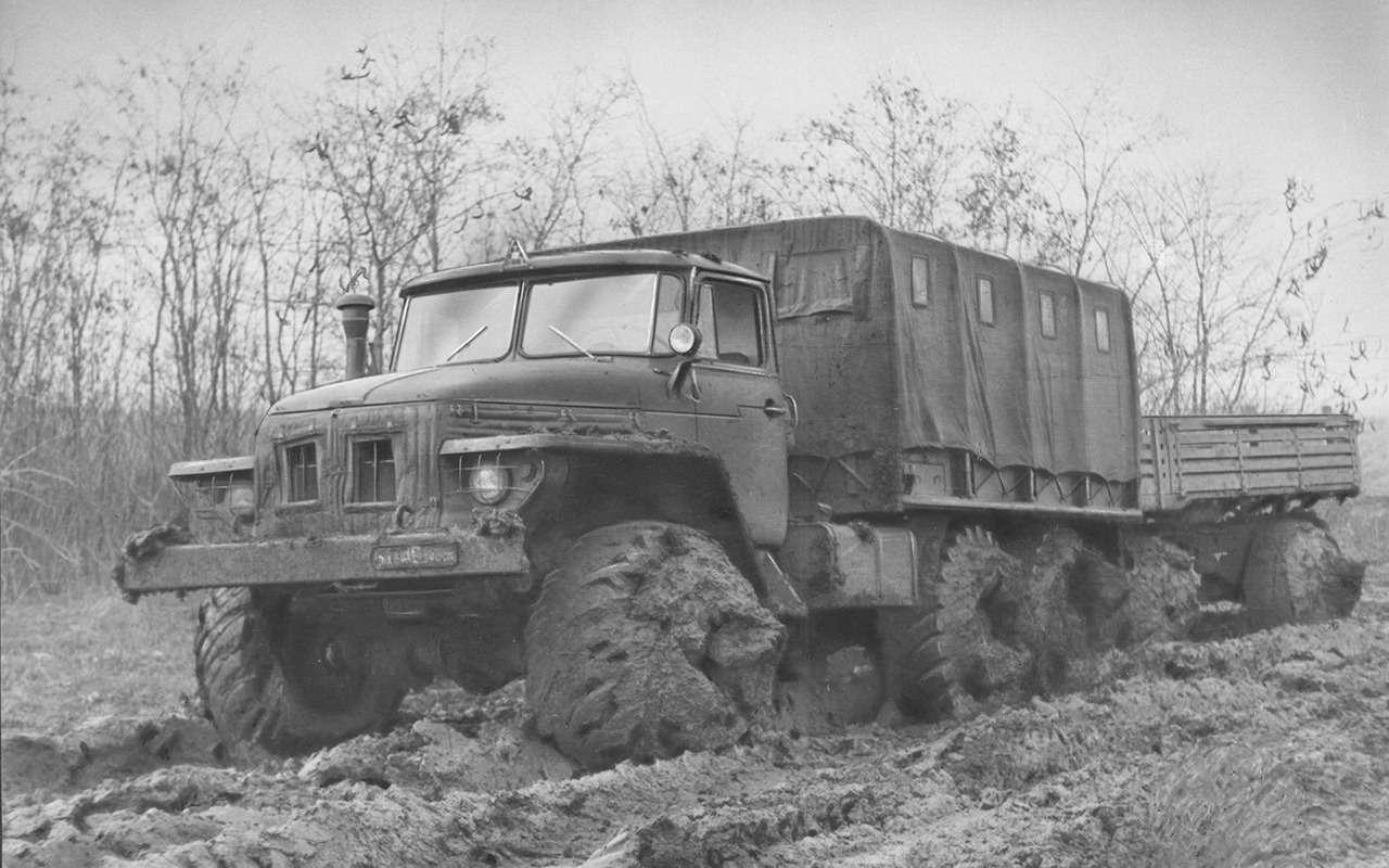 Мотор V12с автоматом— были итакие грузовики вСССР!— фото 1033957