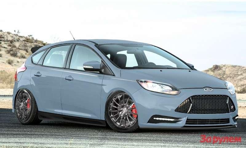 Наежегодной выставке вЛас Вегасе, которая проходит с5по 8ноября, ведущие тюнинг-ателье США представили свои эксклюзивные версии Ford Focus ST