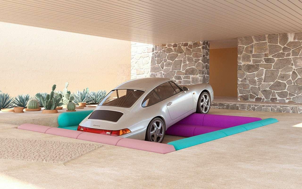 Странно иневероятно: сюрреалистичный мир Porsche— фото 1210061