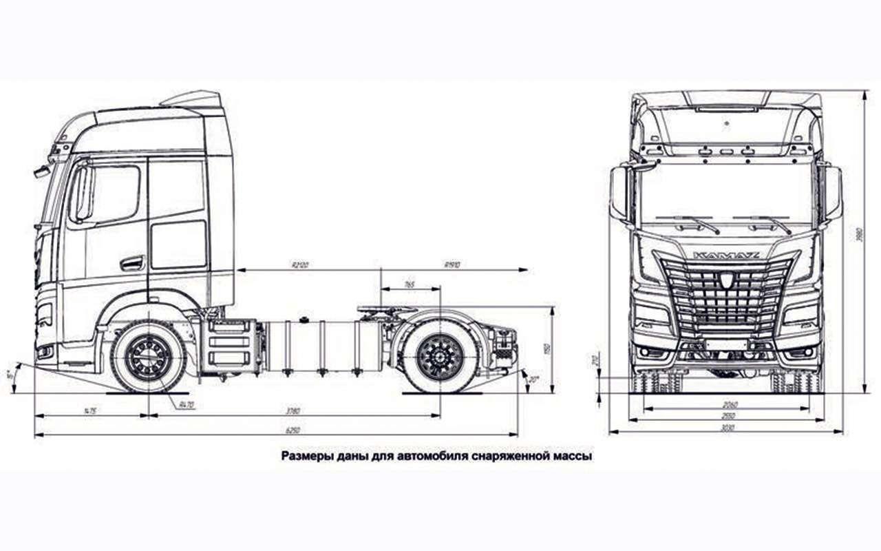 Новая кабина, новый двигатель— совсем другой КАМАЗ уже впродаже— фото 1125210