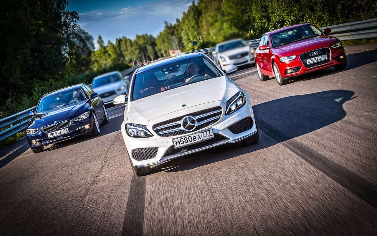 Mercedes C-класса иконкуренты: что брать сегодня навторичке— фото 1278157