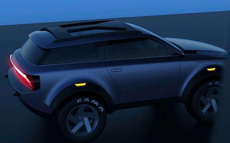Lada Niva 3 - появились новые изображения