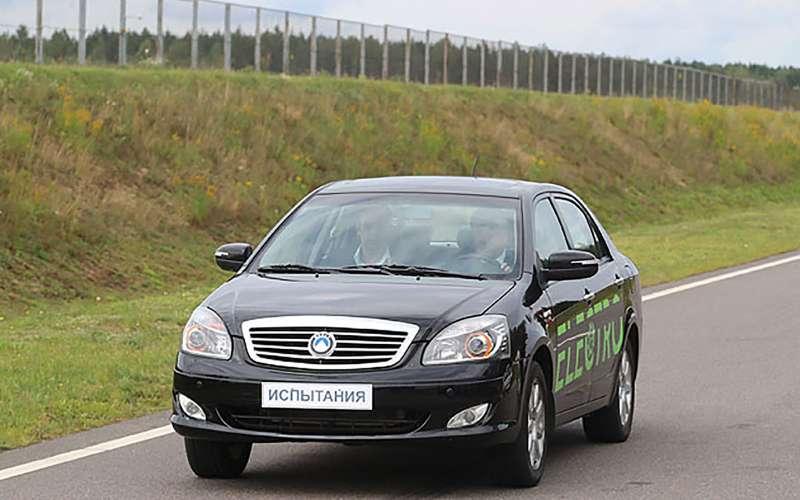 Показан первый белорусский электромобиль