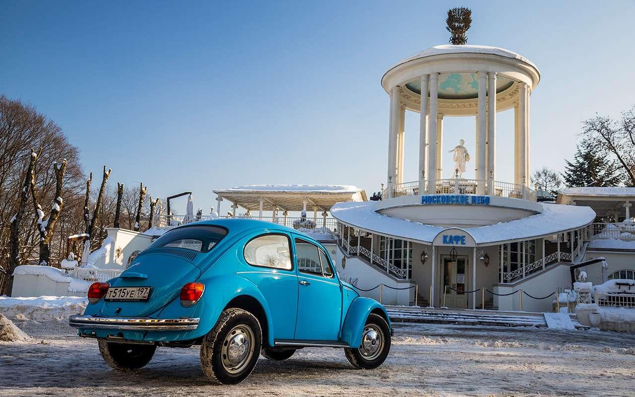 Советские автомобили против иномарок— супертест кюбилею— фото 858348