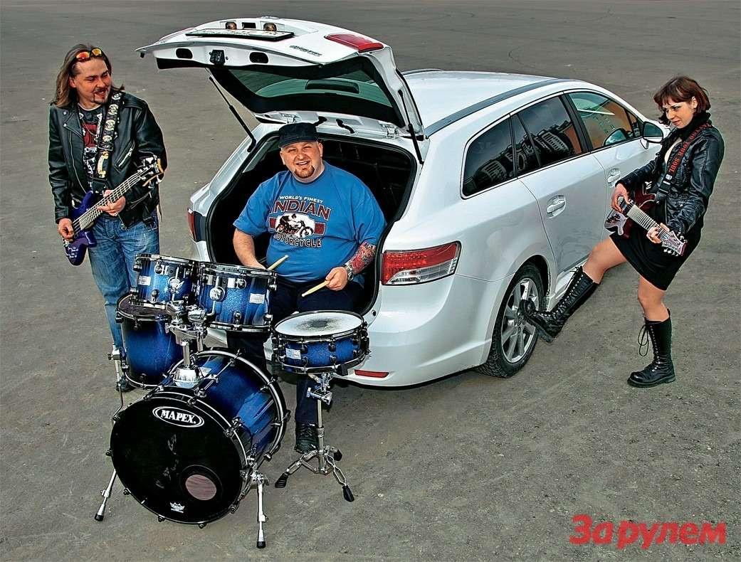 Toyota Avensis и