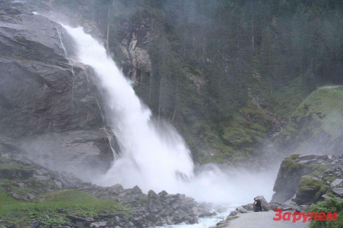 Криммлинский водопад. Фото не передает его мощь— нужно оказаться рядом.