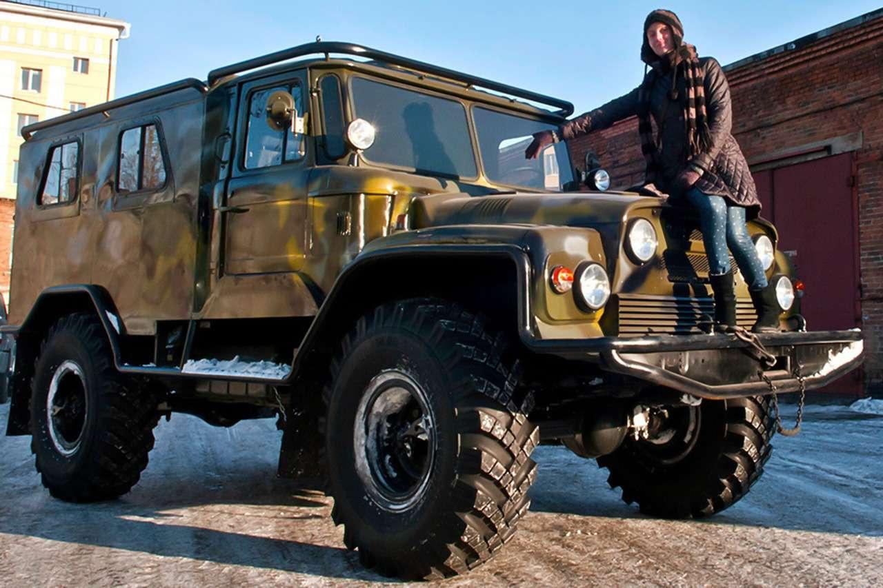 15крутых вездеходов набазе автомобилей ГАЗ— фото 914648