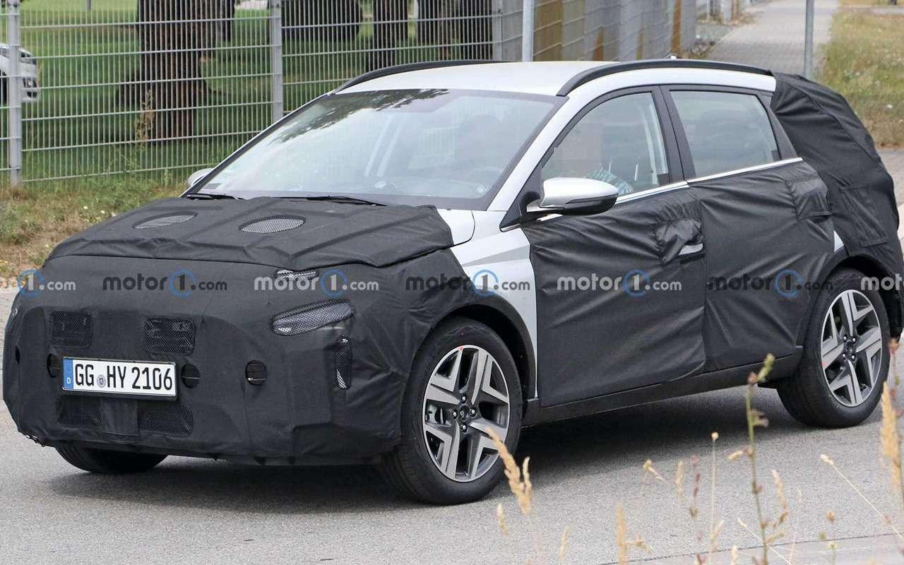 Новый кроссовер Hyundai натестах: подробности— фото 1204688
