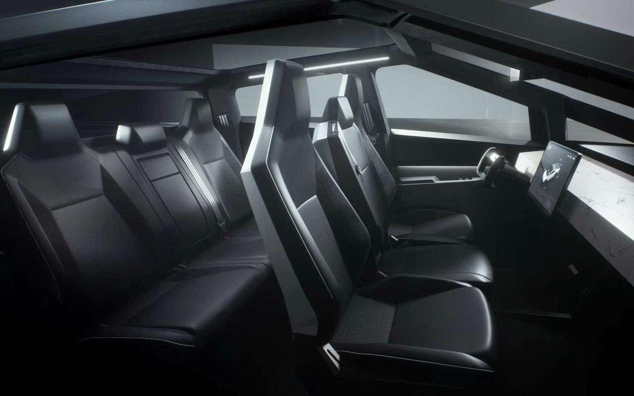 Tesla представила пикап-броневик Cybertruck, который уже хотят «развидеть»— фото 1010693