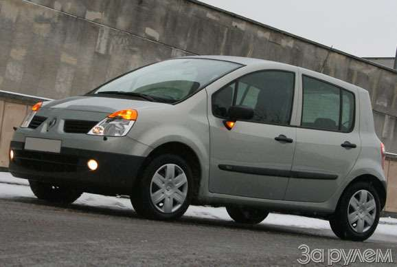 Renault Modus 1.2 Authentique. City mode— фото 62483