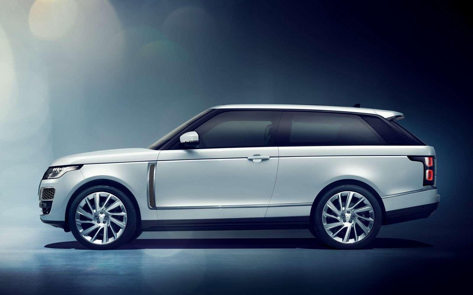 Range Rover SVCoupe: трехдверный, нонеукороченный!— фото 851197