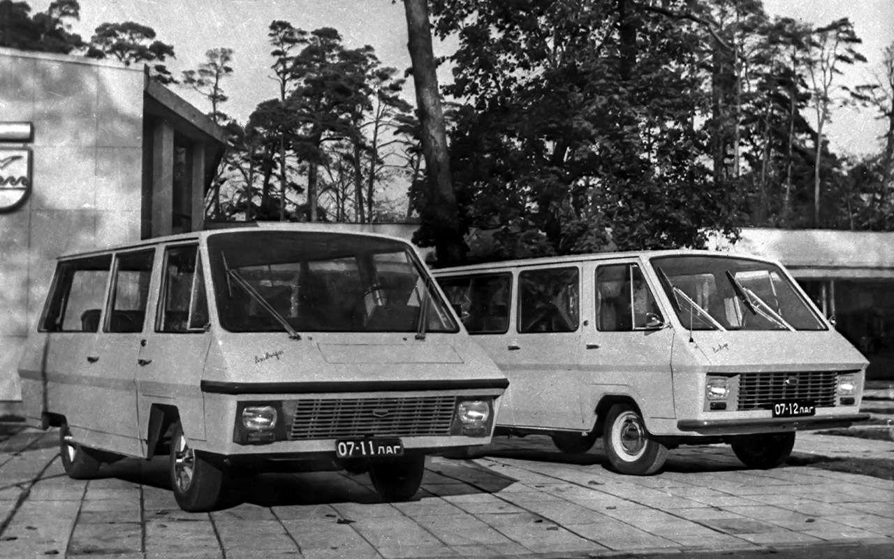 Тотсамый «рафик»: полная история главного микроавтобуса СССР— фото 1218803