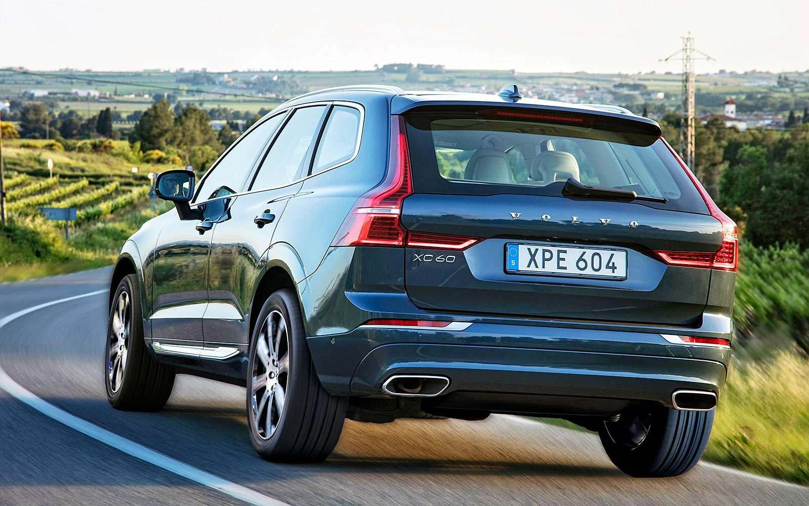 Volvo XC60— чем мощнее двигатель, тем скучнее зарулем?— фото 764249