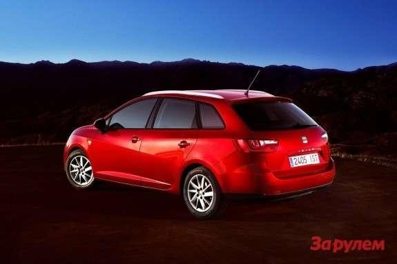 SEAT Ibiza STside-rear view