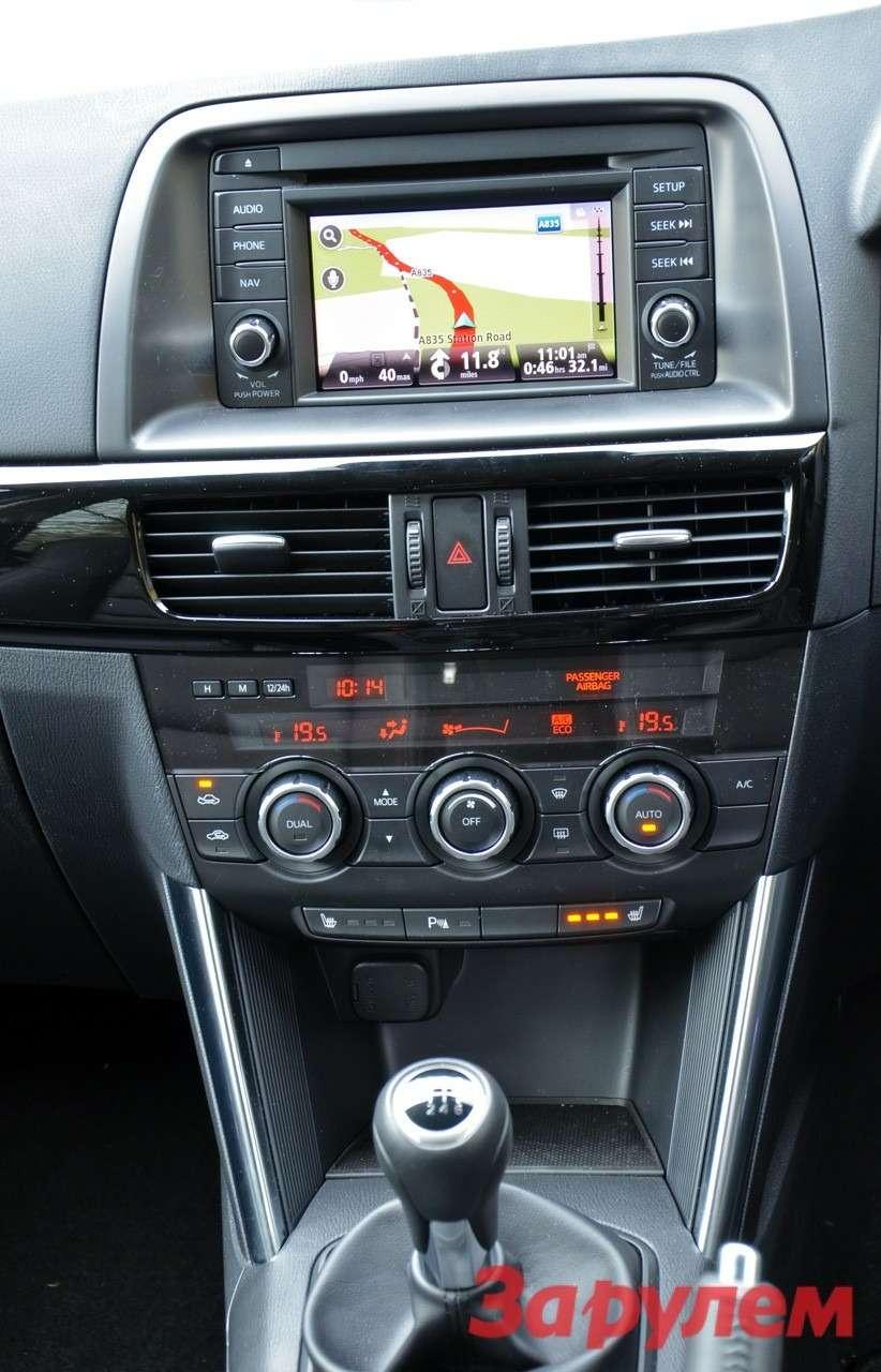центральная консоль Mazda CX-5