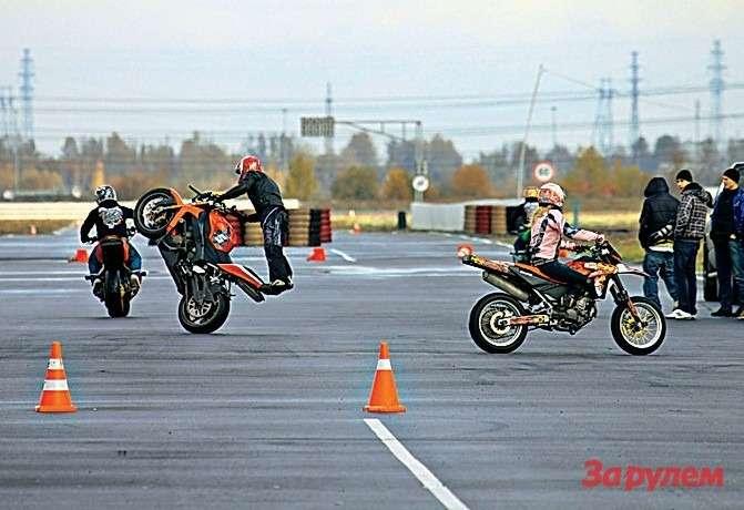Теперь иупитерских мотоциклистов есть площадка длялегальных тренировок.