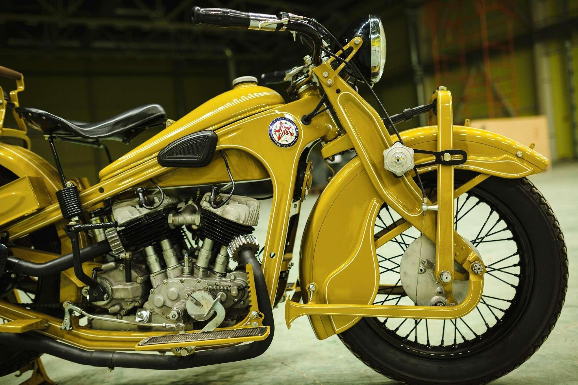 Тяжелый мотоцикл ПМЗ А-750: как Harley-Davidson оказался входовой BMW— фото 927413