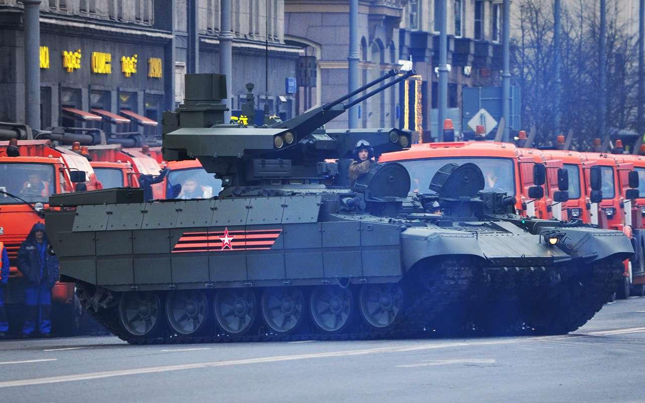 Танк дляподдержки танков— аналогов вмире снова нет!— фото 891770