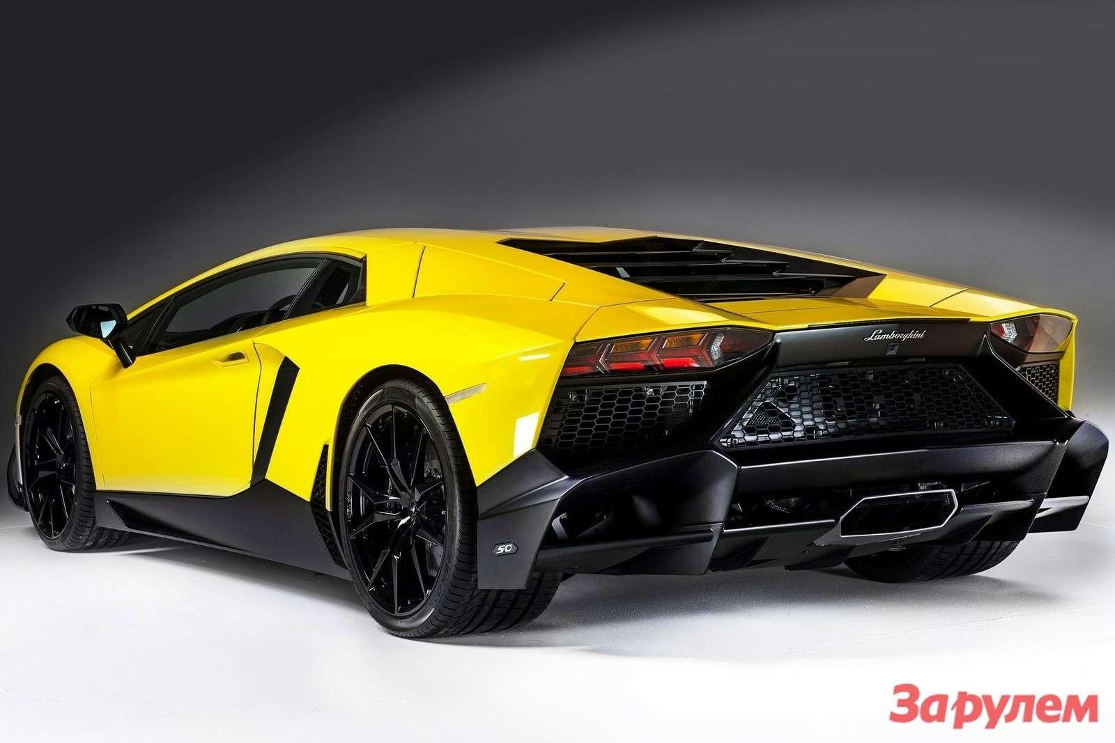 Lamborghini Aventador LP7204 50th Anniversary 2013 1600x1200 wallpaper 03