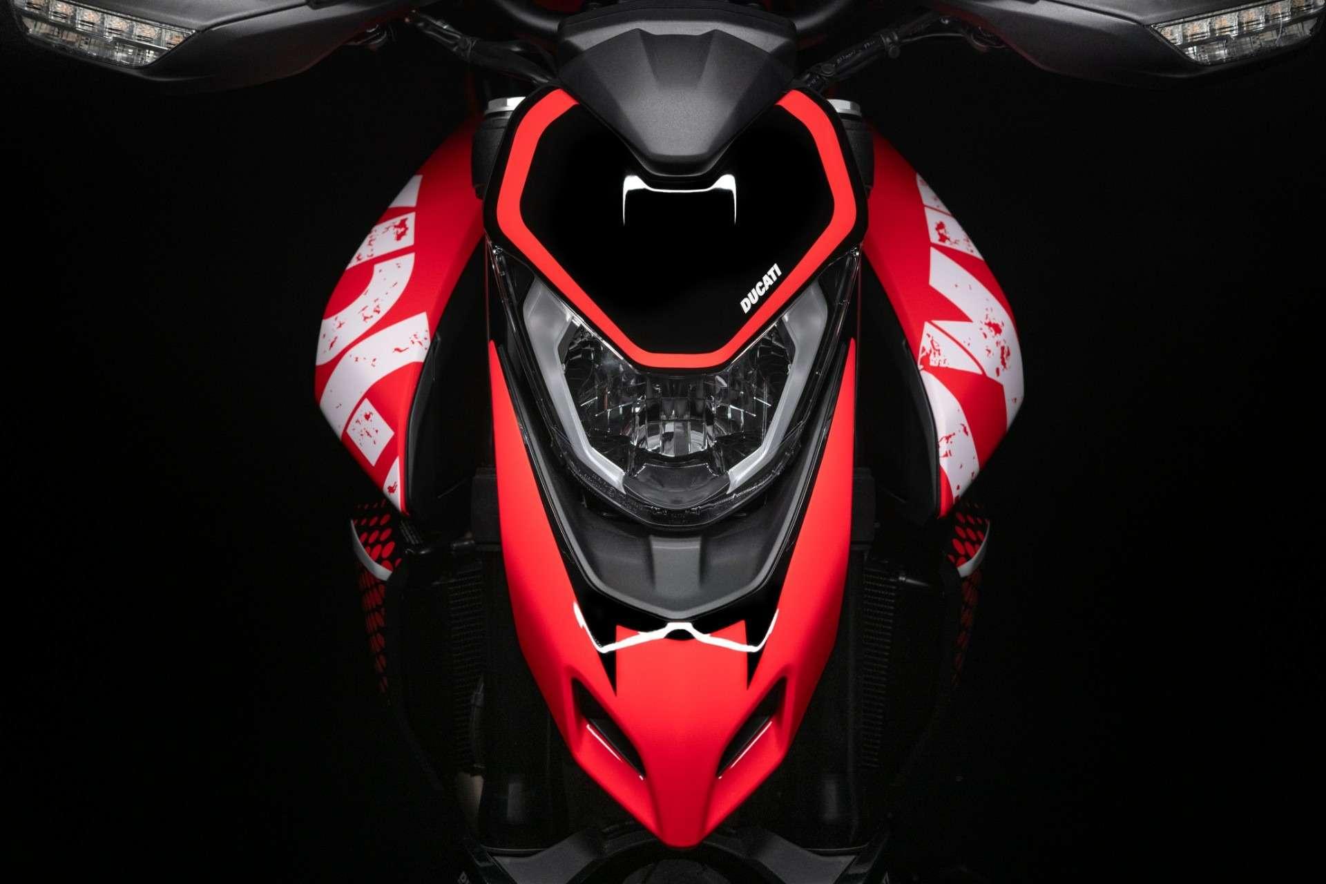 Ducati показала мотоцикл Hypermotard вварианте 950RVE— фото 1141065