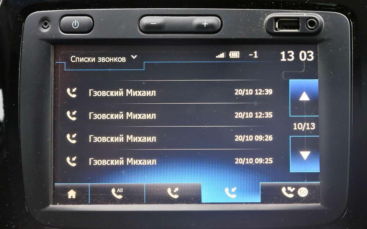 Триглавных недостатка Renault Kaptur— фото 820964