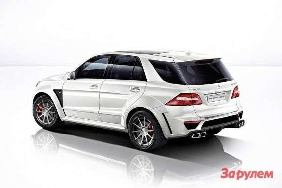 Mercedes-Benz ML63AMG byTopCar side-rear view