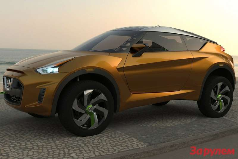 Nissan Extrem Concept side-front view