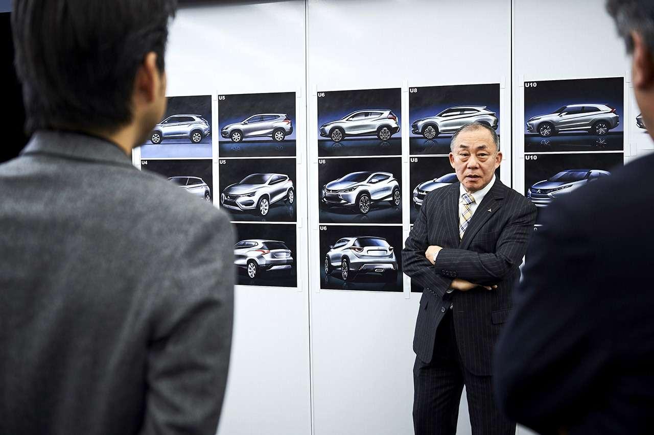 Нарисовать Затмение: новый дизайн Mitsubishi— фото 927406