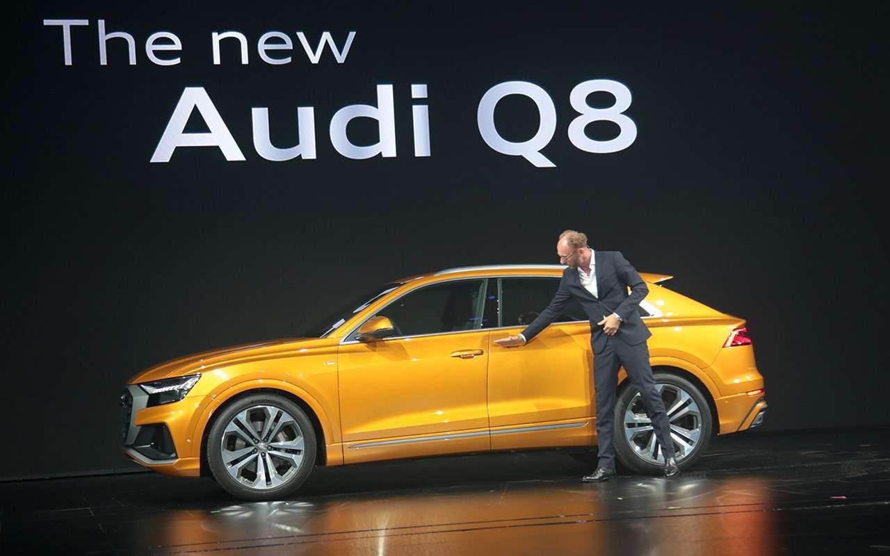 Новый Audi Q8: когда восемь меньше семи— фото 882158