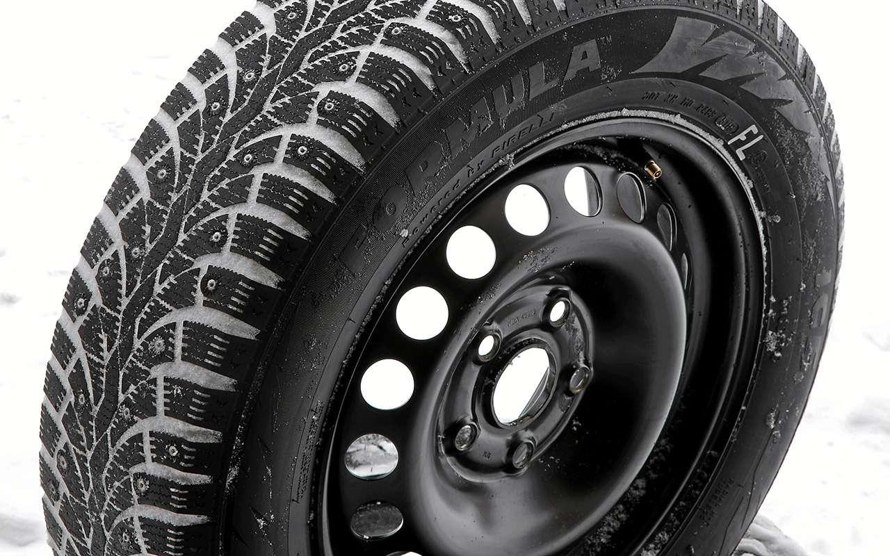 Шипованные шины 185/65R15для бюджетных автомобилей— тест «Зарулем»— фото 794348