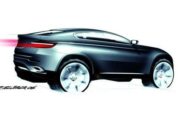 BMWX4rendering rear