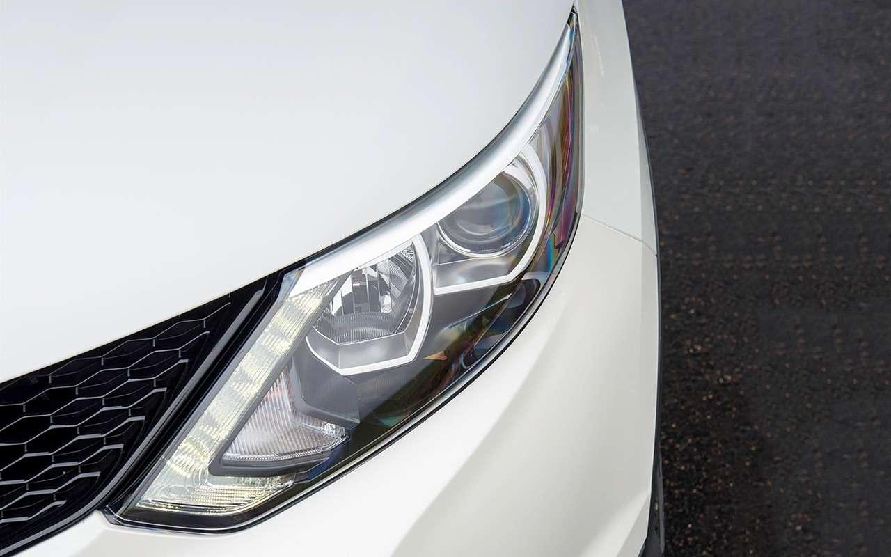 5 плюсов иодин минус Nissan Qashqai— фото 887501