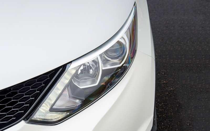 5 плюсов иодин минус Nissan Qashqai