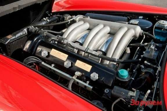 The engine of Mercedes-Benz 300 SL Gullwing