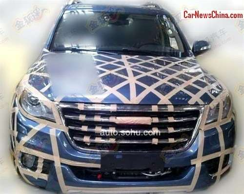 no copyright haval h9 china blue 2