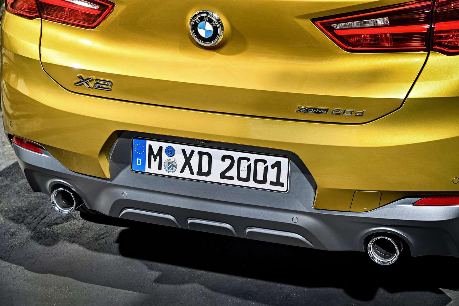 BMWрассекретила российские цены накроссовер X2— фото 809830