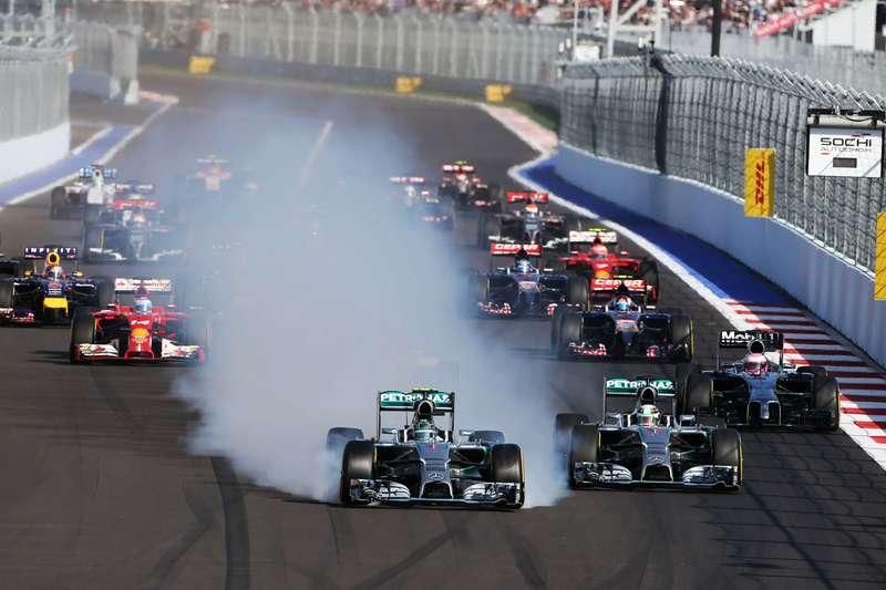 Сочи Автодром, Виталий Петров, Формула 1, Гран-при России, трибуна Т2, Сочи