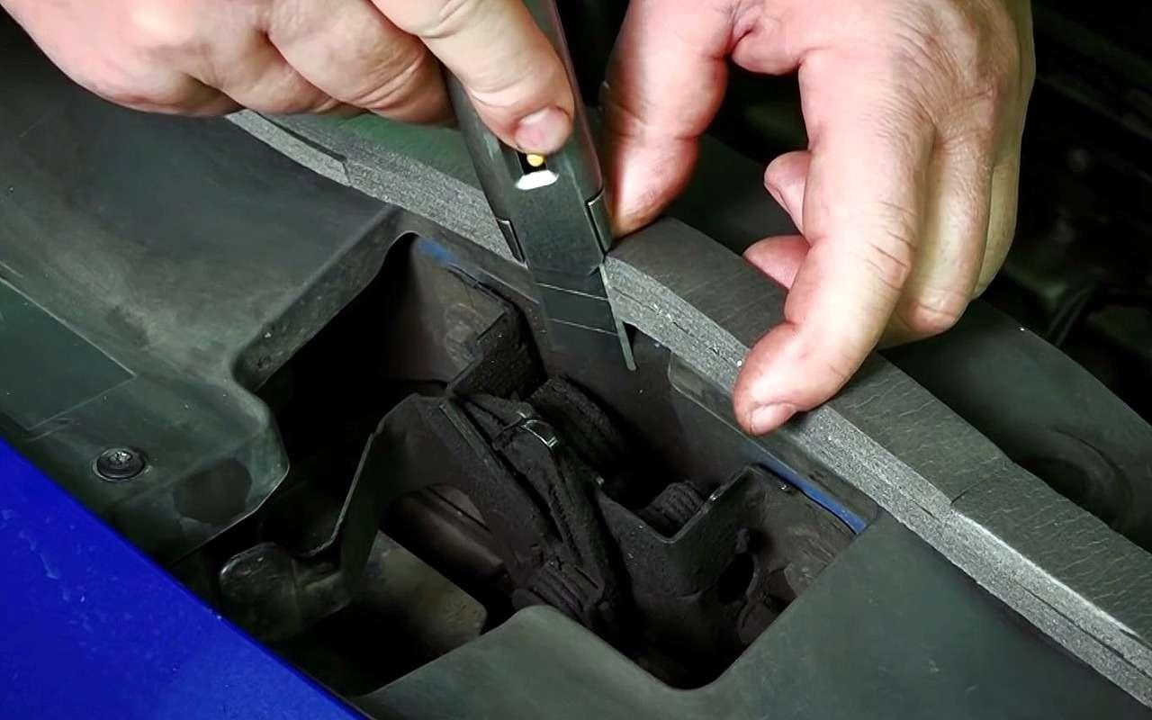 Защищаем мотор отгрязи: надежный бюджетный способ— фото 1060556
