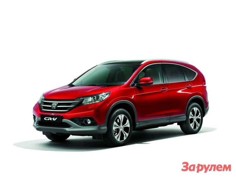 NewCR-V Front