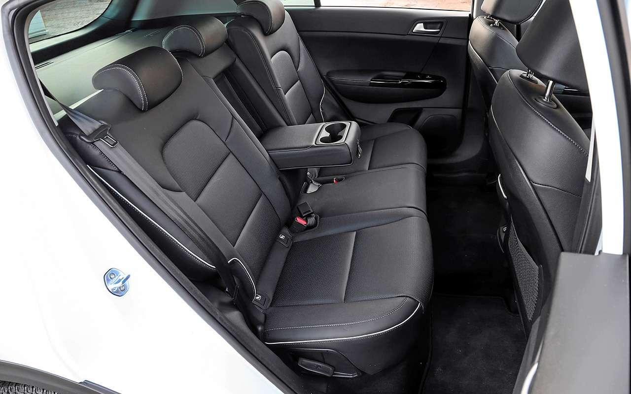 Новый Subaru Forester против конкурентов: большой тест кроссоверов— фото 935682