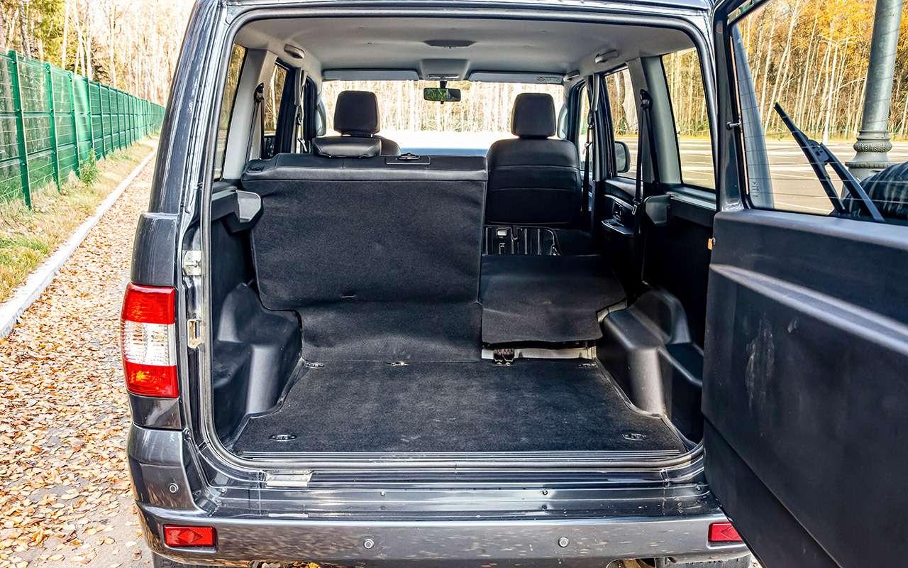 Новый УАЗ Патриот или 10-летний Land Cruiser 200: тест-драйв— фото 1058462