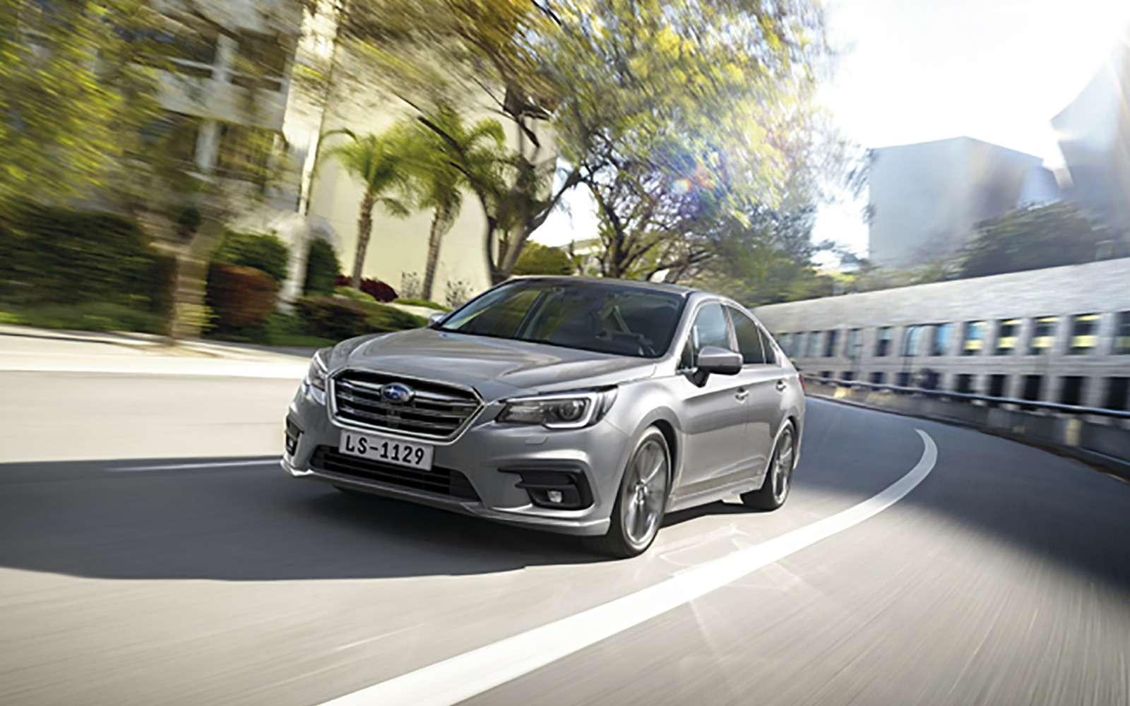 Subaru объявила российские цены наLegacy. Дорого, нокруто— фото 849352