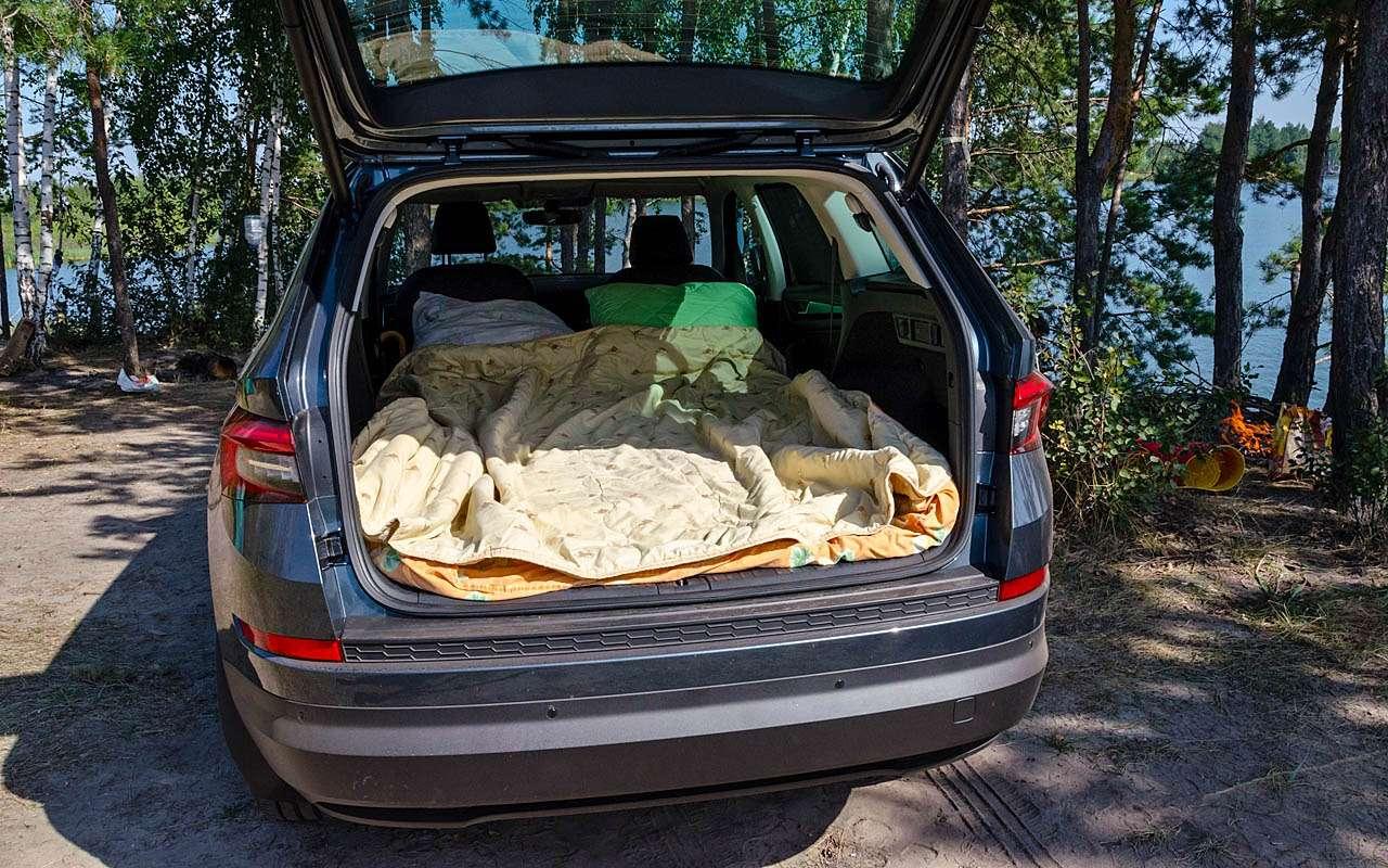 Большое путешествие наШкоде Кодиак: «однушка» наколесах— фото 814238