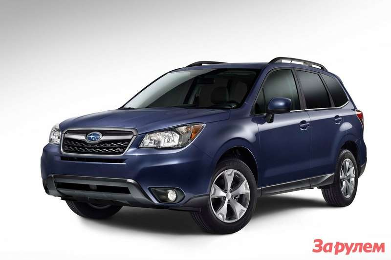 New Subaru Forester side-front view 2